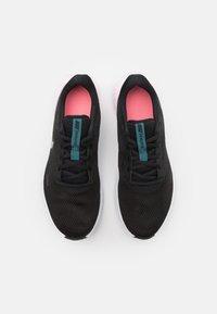 Nike Performance - REVOLUTION 5 - Neutral running shoes - black/dark atomic teal/sunset pulse/white - 3