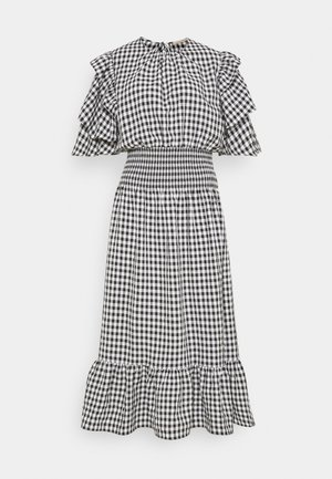 Maxi dress - black/white