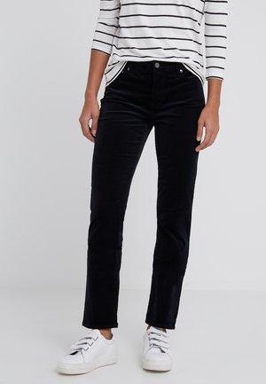 MIDRISE PANT - Trousers - black