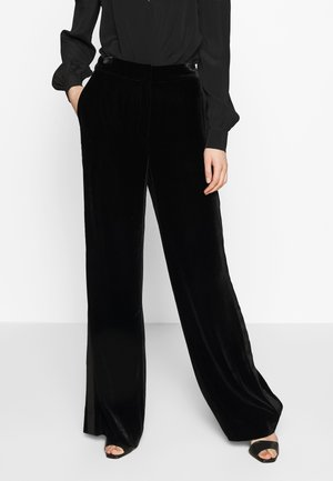 GEORGINA - Trousers - black