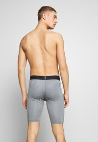 Nike Performance - SHORT LONG - Punčochy - smoke grey/light smoke grey/black - 2
