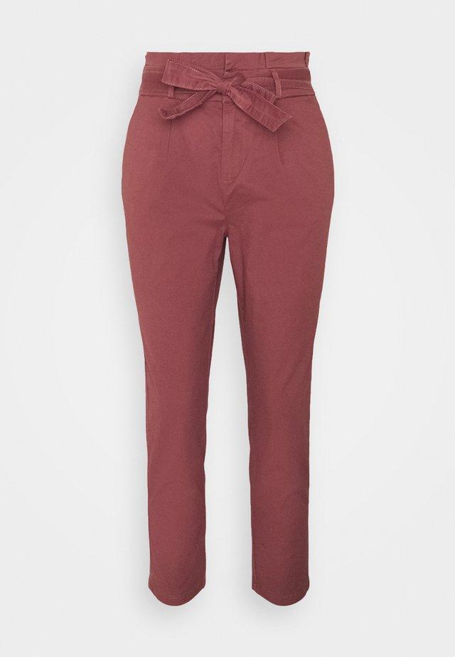 ONLPOPTRASH LIFE PANT - Trousers - apple butter