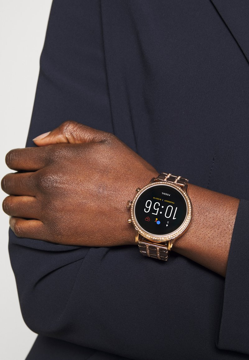Fossil Smartwatches - JULIANNA - Smartwatch - rose gold-coloured