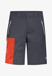 Jack Wolfskin - OVERLAND  - Outdoor shorts - ebony - 3