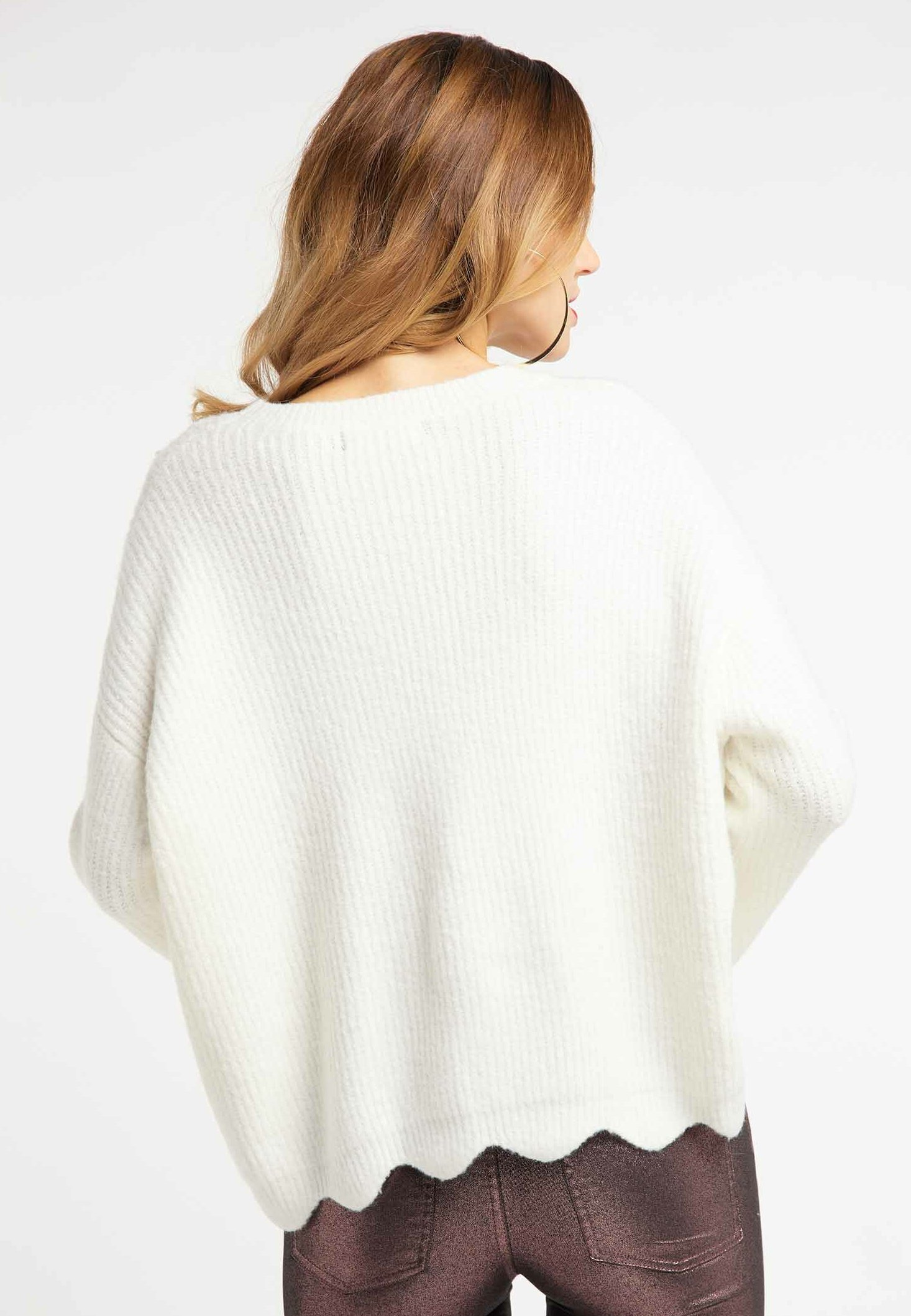 Big Sale Women's Clothing faina Jumper wool white 8Xi4AYwa4