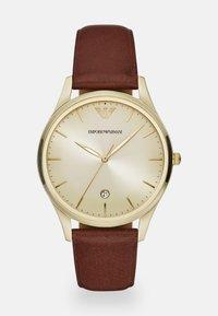 Emporio Armani - ADRIANO - Watch - brown - 0