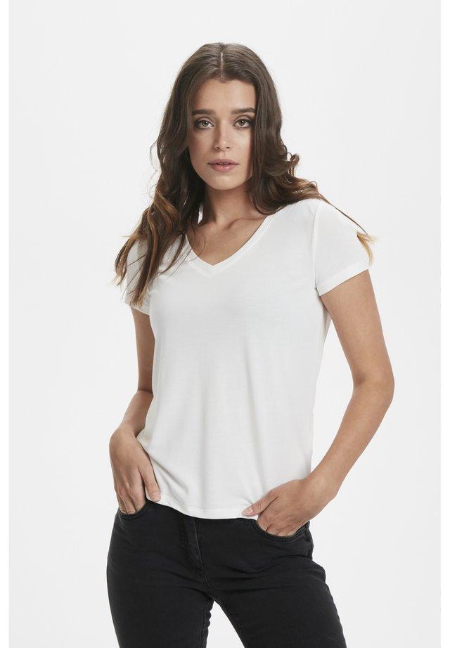 T-shirt - bas - broken white