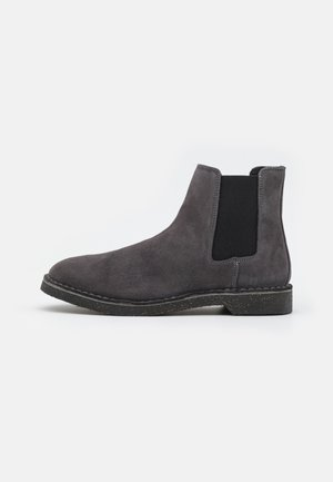 SLHRIGA CHELSEA BOOT - Classic ankle boots - dark grey