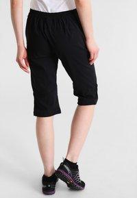 Jack Wolfskin - ACTIVATE LIGHT 3/4 PANTS - 3/4 sports trousers - black - 2