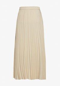 Selected Femme - SLFALEXIS SKIRT - A-line skirt - sandshell - 1