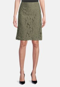 Betty Barclay - A-line skirt - dusty olive - 0