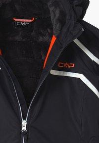 CMP - GIRL SNAPS HOOD - Lyžařská bunda - dark blue/coral - 3