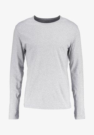 Langærmede T-shirts - mottled light grey