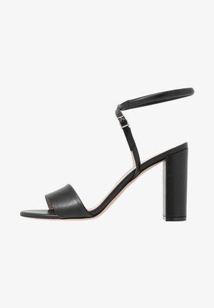 PIPER  - Sandály na vysokém podpatku - black