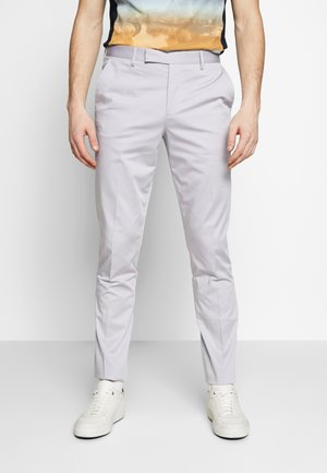 GENTS SLIM FIT TROUSER - Stoffhose - lilac