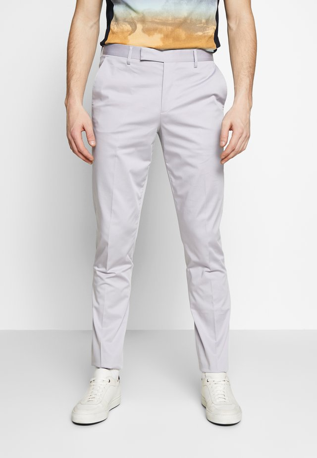 GENTS SLIM FIT TROUSER - Kalhoty - lilac