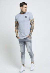 SIKSILK - DISTRESSED SUPER - Jeans Skinny Fit - washed grey - 1