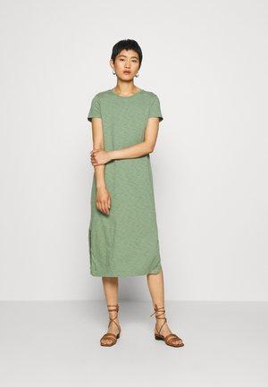 CREW MIDI DRESS - Jersey dress - twig