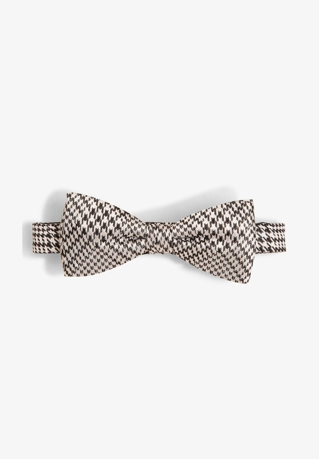 Bow tie - schwarz weiß