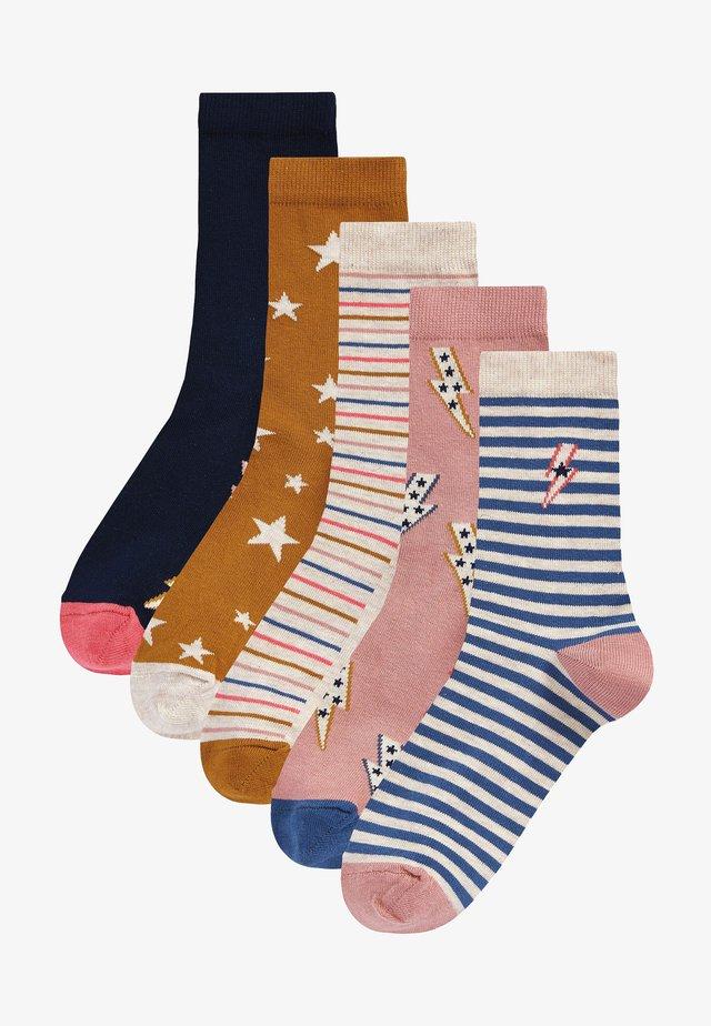 5 PACK - Socks - yellow