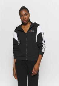 Fila - LAIN - Zip-up hoodie - black - 0