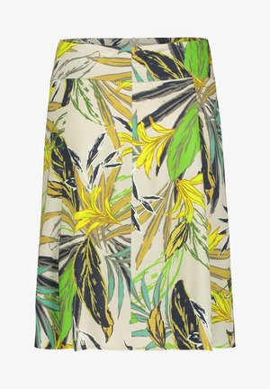 A-line skirt - green/green