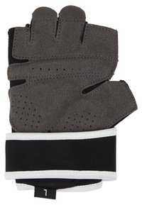 Nike Performance - GYM PREMIUM FITNESS GLOVES - Fingerless gloves - black/white - 3