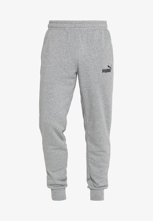 ESS LOGO PANTS - Tracksuit bottoms - medium gray heather