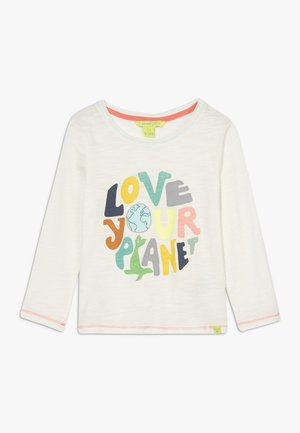 LOVE YOUR PLANET TEE - Long sleeved top - multi