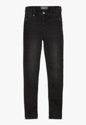 GIRLS HIGH WAIST - Skinny džíny - black soft used