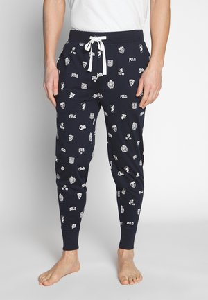 LIQUID - Pantalón de pijama - cruise navy