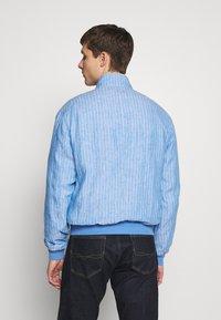 Polo Ralph Lauren - CITY  - Bomber bunda - capri blue/white - 2