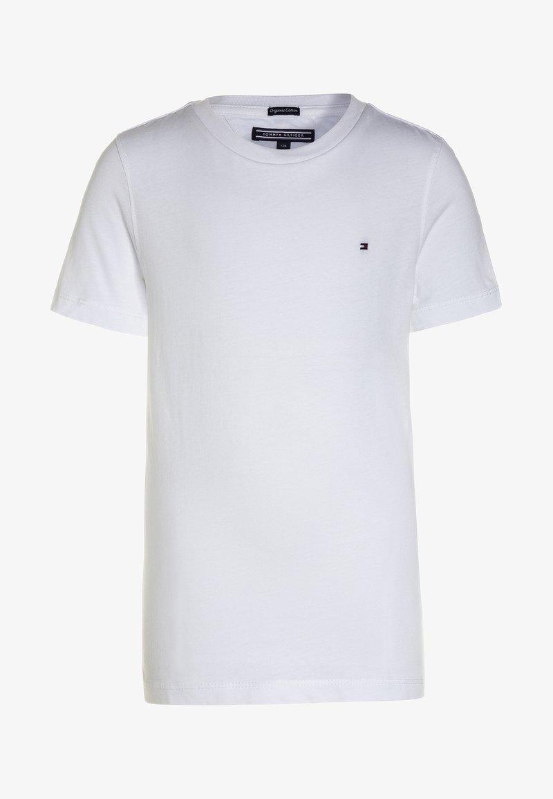 Tommy Hilfiger - BOYS BASIC  - Jednoduché triko - bright white