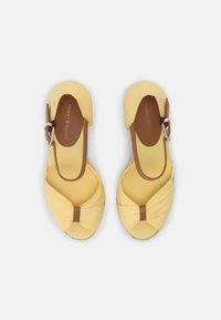 Tommy Hilfiger - ELENA - High heeled sandals - delicate yellow - 4