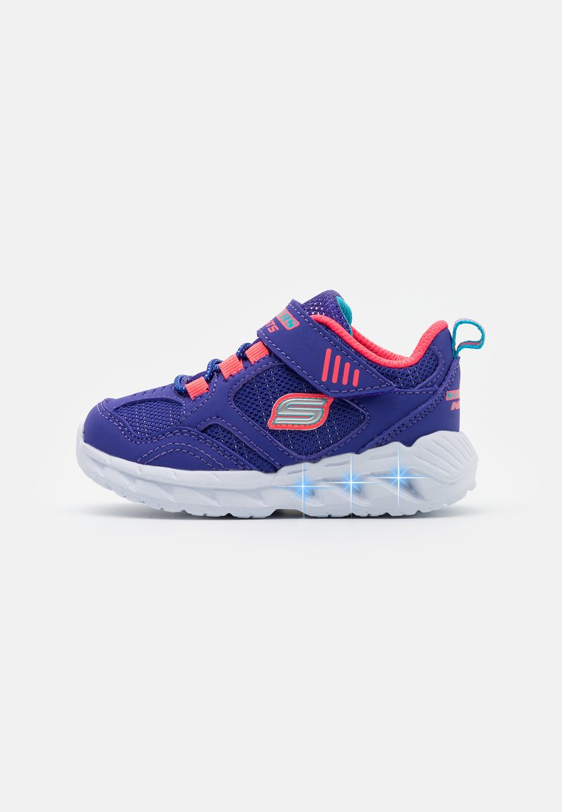 Skechers - MAGNA LIGHTS - Trainers - blue/coral