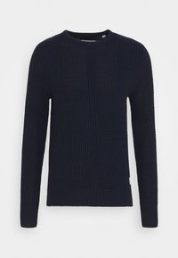 Jack & Jones - JCOSTRONGER CREW NECK - Maglione - navy blazer - 4