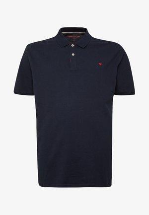 BASIC WITH CONTRAST - Polo shirt - sky captain blue