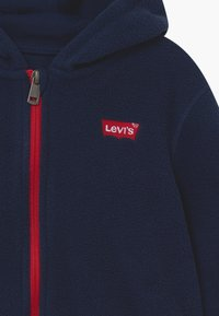Levi's® - LOGO PATCH FULL ZIP - Fleecejas - dress blues - 3