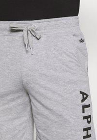 Alpha Industries - LIGHT - Teplákové kalhoty - grey heather - 3