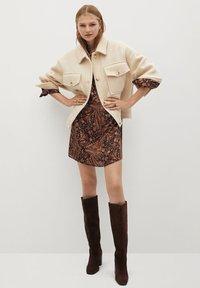 Mango - OSLO - Day dress - marron - 1