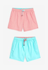 Next - 2 PACK - Swimming shorts - red - 2