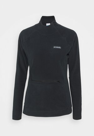 ALI PEAK ZIP - Fleecegenser - black