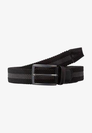 CEINTURE POUR HOMME - Braided belt - black