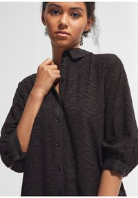 comma - Shirt dress - black - 3