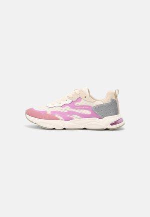 LOU - Sneakers laag - white/purple