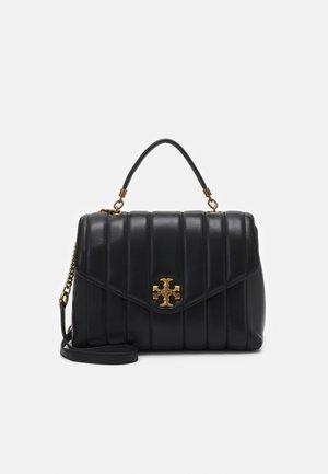 KIRA HEIRLOOM TURNLOCK TOP HANDLE SATCHEL - Handbag - black