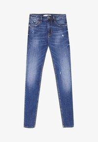 Stradivarius - Jeans Skinny Fit - dark blue - 4