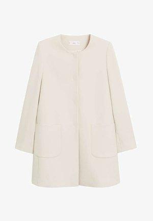 BOMBIN - Short coat - ecru
