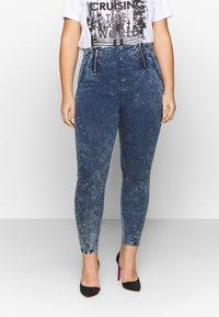 Simply Be - SHAPER JEGGING - Jeans Skinny Fit - blue acid - 0