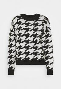 JDY - JDYAXIS  - Jumper - black/white check - 0